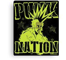 Punk Nation Canvas Print