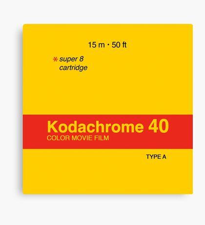 Kodachrome 40 (Type A) Canvas Print