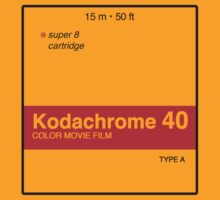 Kodachrome 40 (Type A) T-Shirt