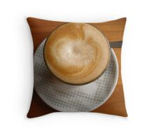 The Perfect Brew Throw Pillow