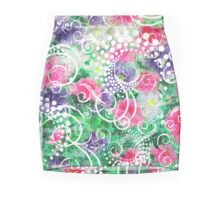 Swirly Dots by Jan Marvin Pencil Skirt