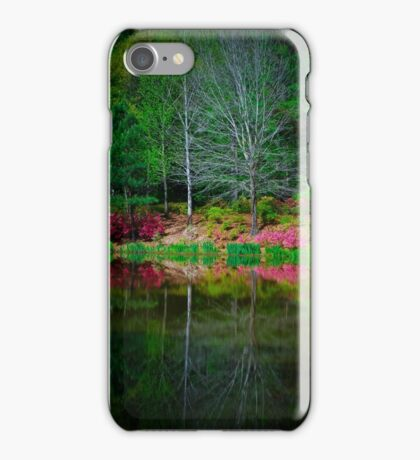 Springtime Reflections iPhone Case/Skin