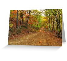 Rainbow Lane Greeting Card