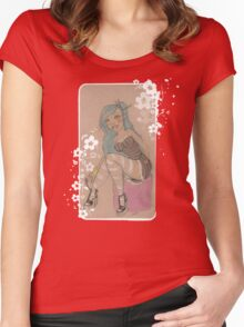 Lolita & Blossoms Women's Fitted Scoop T-Shirt