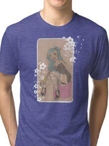 Lolita & Blossoms Tri-blend T-Shirt