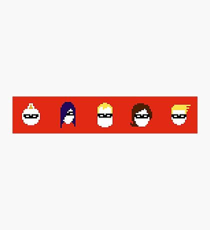 Retro The Incredibles Photographic Print