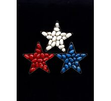 Jelly Bean Stars Photographic Print