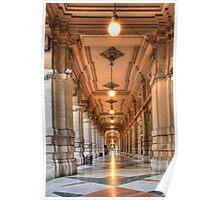 Corridor in Firenze Poster