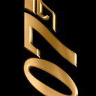 James Bond 007 Gold by kasurcase