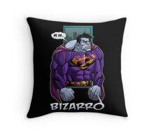 Bizzaro Throw Pillow