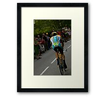 LANCE AMSTRONG Framed Print