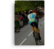 LANCE AMSTRONG Canvas Print