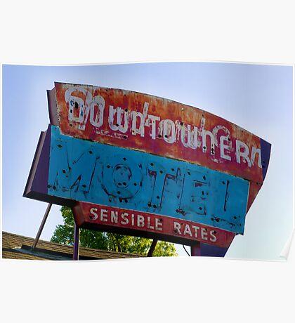 Motel Downtowner - Flagstaff - AZ Poster