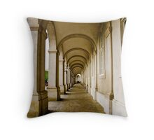 Cobbled arches Throw Pillow