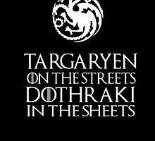 Targaryen-Dothraki by vmannah
