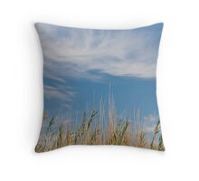 Relaxing in Siwa Egypt Throw Pillow