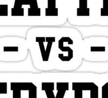 Seattle vs Everybody Sticker
