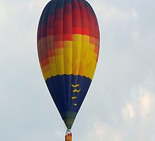Colorful Hot Air Balloon  by Happystiltskin