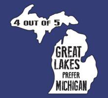 Prefer Michigan by heeheetees
