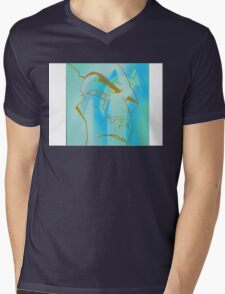 Diagnosis Mens V-Neck T-Shirt