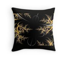 Frost on Tree Tops Throw Pillow