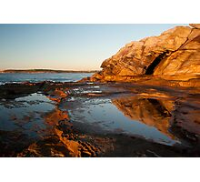 Maroubra Rocks Photographic Print