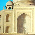 Taj Mahal by Carole Russell