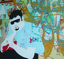 Davids Thinker by Dan  Bagnall