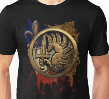 French Foreign Legion Para w Background Unisex T-Shirt