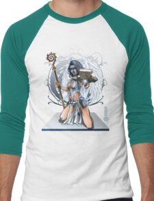 The Game of Kings, Wave Two: The White King's Bishop Men's Baseball ¾ T-Shirt