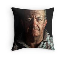 The Sheepman Throw Pillow