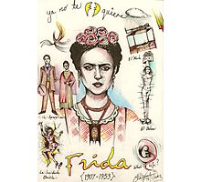A Lust For Life: The World Of Frida Kahlo ( 1907-53 ) Photographic Print