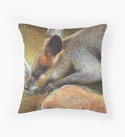Cool Relief Throw Pillow