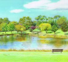 Fagan Park by Karen  Hull