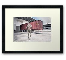 7 Minute Abs Framed Print