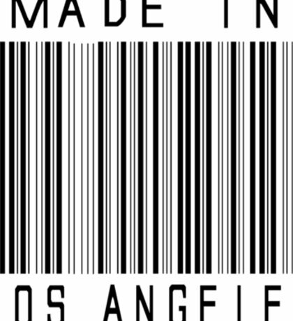 Made in Los Angeles Sticker