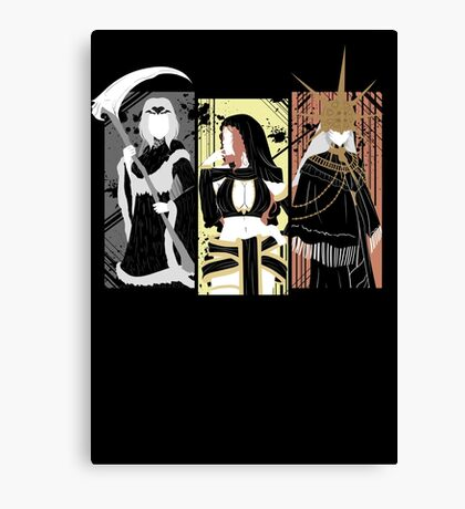Dark Waifus Canvas Print
