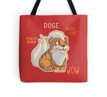 FIRE DOGE Tote Bag