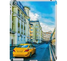 Yellow Taxi iPad Case/Skin