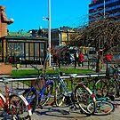 "City Life - ""Bikes & The City"" by Denis Molodkin"