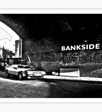 Delorean, Bankside Sticker