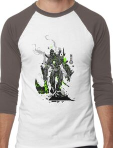 The Game of Kings, Wave Two: The Black King-Bishop's Pawn Men's Baseball ¾ T-Shirt