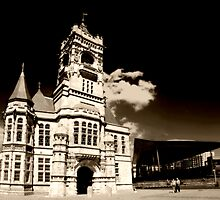 Sunny Day at the Pierhead Building. by Anthony Thomas
