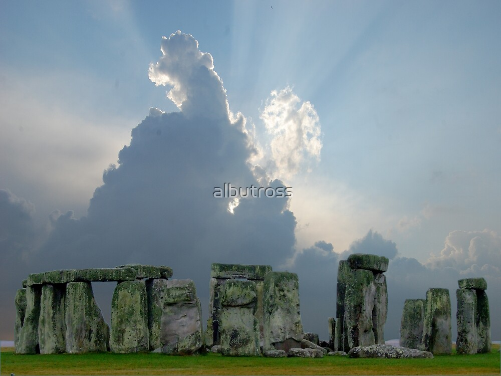 Something brewing at Stonehenge. by albutross