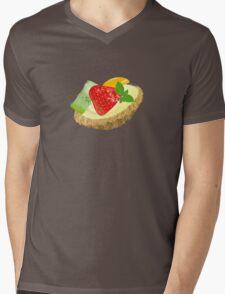 Fruit tart Mens V-Neck T-Shirt