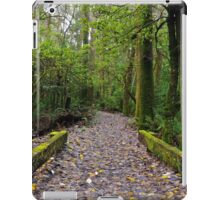 Wet leaves iPad Case/Skin