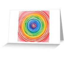 To Center Greeting Card
