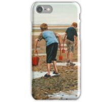 Hunting for Crabs iPhone Case/Skin
