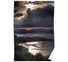 Gourock and Clyde Estuary from Lyle Hill, Greenock Poster