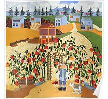 Brandywine Tomatoes Poster